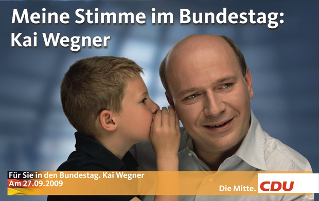 Meine Stimme CDU Wegner 2009