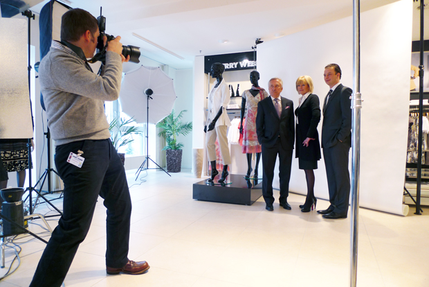 Gerry Weber Making-Off Bild 3