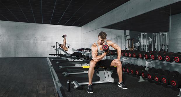 McFit Training_Freie Gewichte
