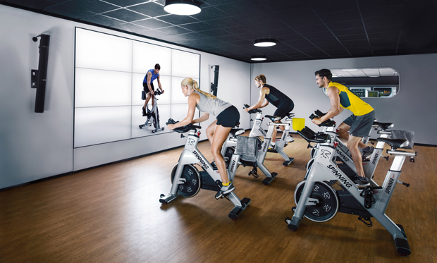 McFit Training_Spinning