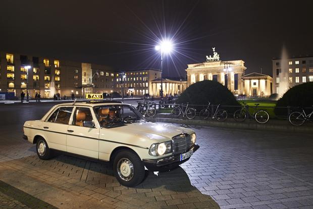 Mercedes Taxi 3