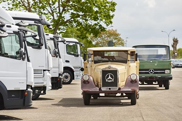 Mercedes-Benz LKW 21
