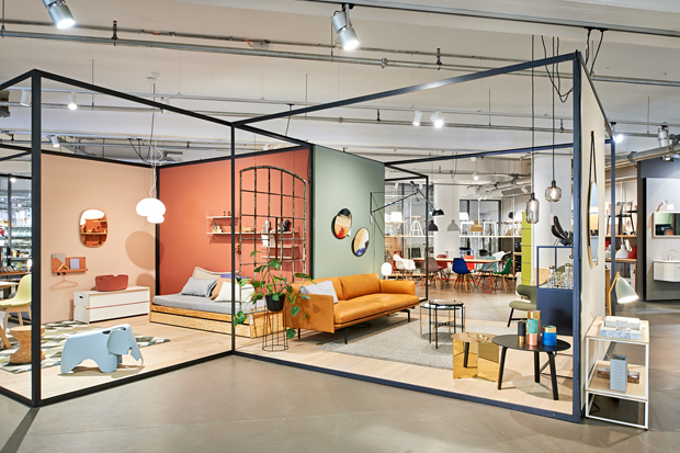 Minimum Berlin durfte den euer showroom minimum im aufbau haus in berlin