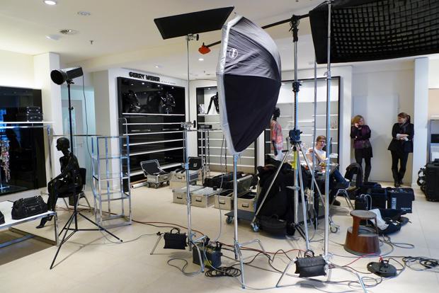 Gerry Weber Making-Off Bild 2