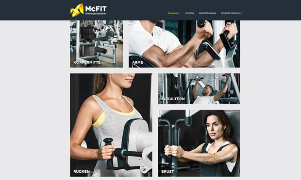 McFit Web 4
