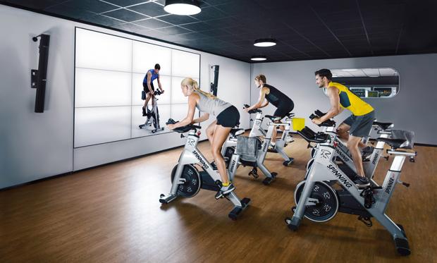 McFit Training_Spinning