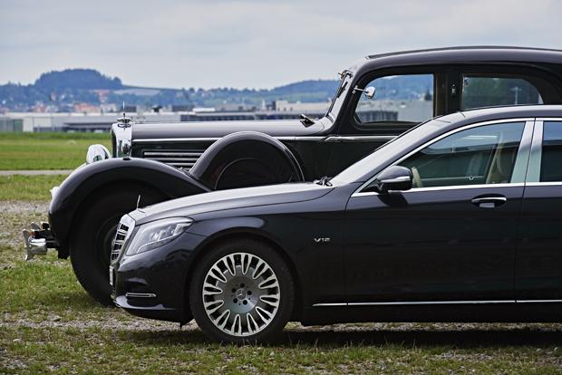 Mercedes Classic 8