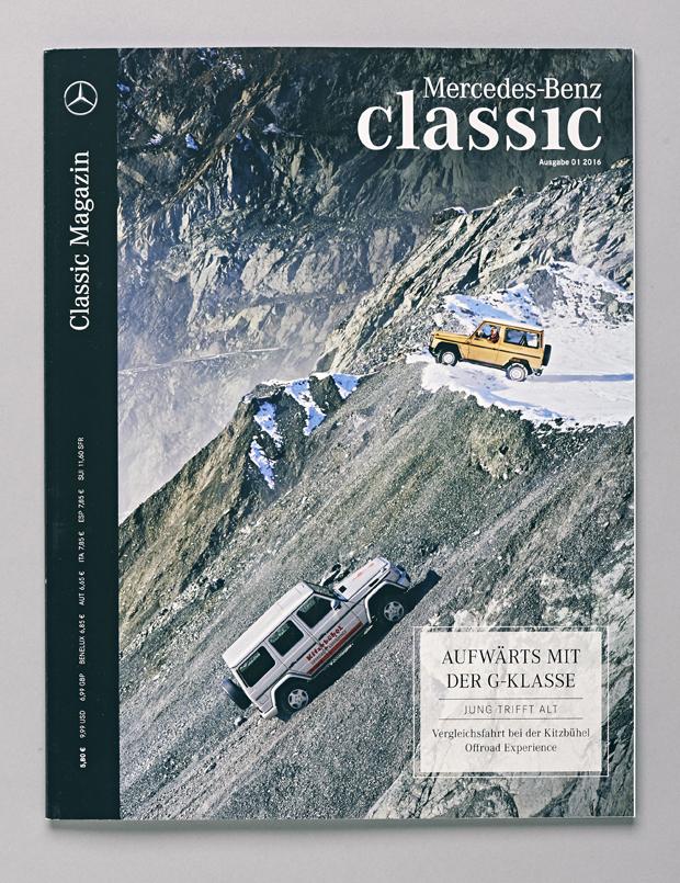 G-Klasse Mercedes-Benz Classic Magazine 25