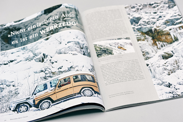 G-Klasse Mercedes-Benz Classic Magazine 29