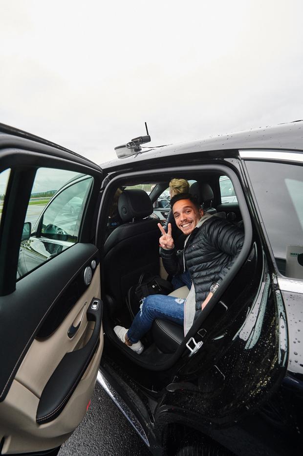 Mercedes Brand EQ Ambassador Camp Oslo 1